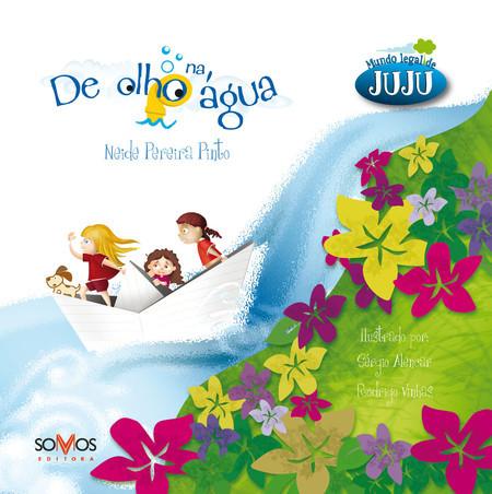 capa do livro De olho na água