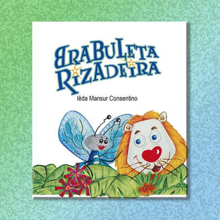 Capa do livro Brabuleta Rizadeira